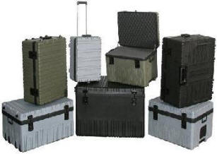 Roto rugged cases with handle & wheels