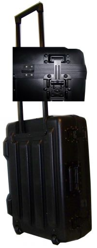XHDT Deluxe Roller case lined with  2foam