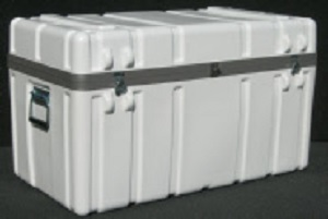 SW3518-155FF Shipping Case - Wheels/Filled