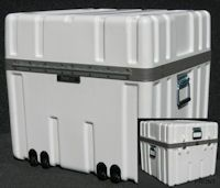 SW2424-21LF Shipping Case - Wheels/Lined