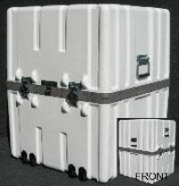 SW2424-30TFF Transit case - Wheels/Filled